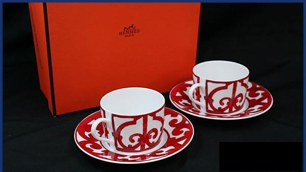Bộ cốc uống trà Hermes