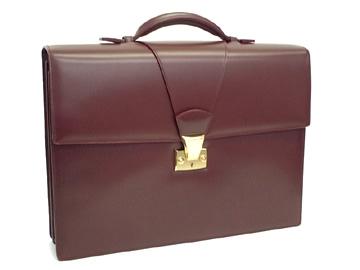 Túi xách nam Cartier leather bag