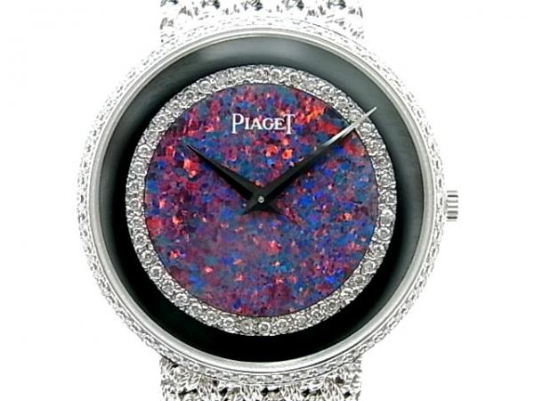 Đồng hồ Piaget nam vàng trắng WG