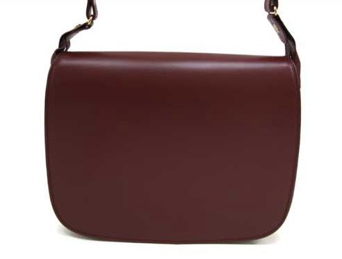 Túi Cartier đeo chéo màu đỏ