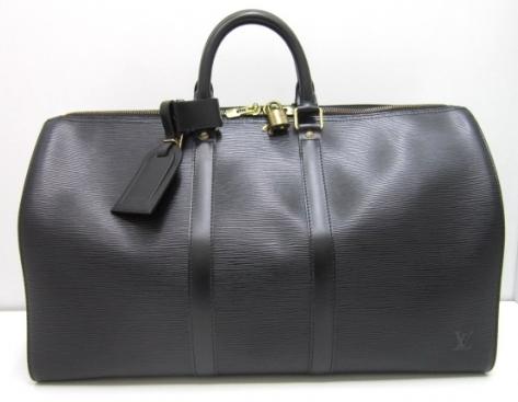 Túi Louis Vuitton epi keepall 45 màu đen