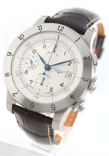 SALES Đồng hồ Longines L2.741 dây da nâu