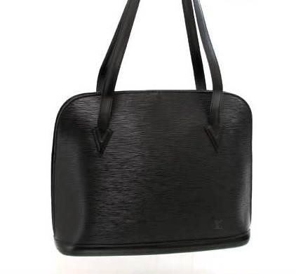 Authentic túi Louis vuitton epi đeo vai màu đen luck