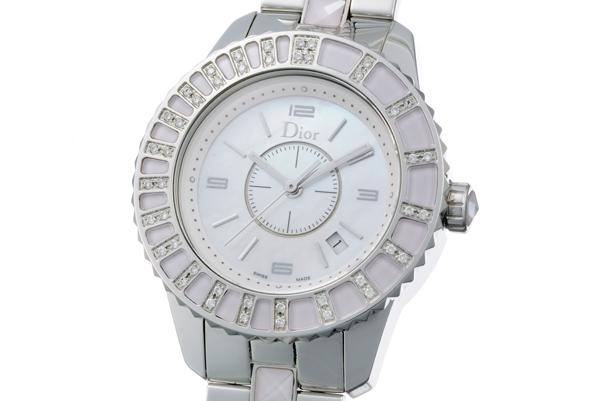 Đồng hồ christian Dior hồng CD113110 hồng/trắng