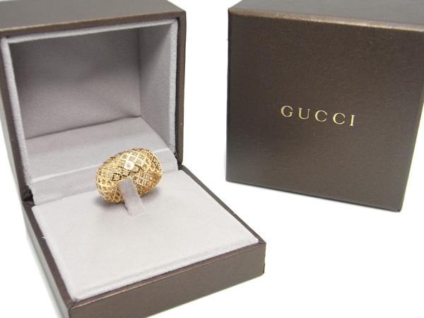 Nhẫn Gucci lưới size 15