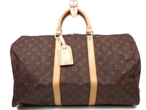 Túi Louis Vuitton keepall 50 du lịch màu nâu