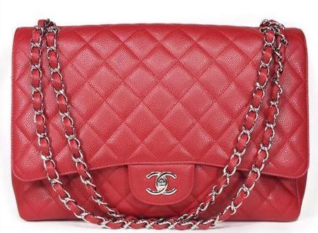 Túi xách Chanel classic XL màu đỏ