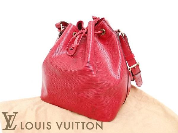 Túi Louis Vuitton epi petit noe đỏ