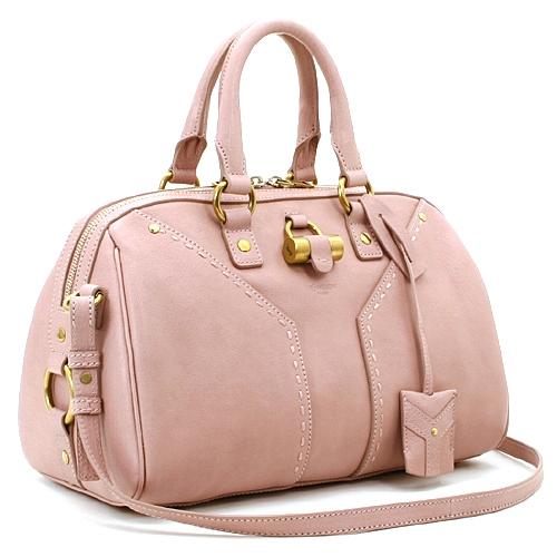 Túi xách Yves Saint Laurent hồng nhạt 5718