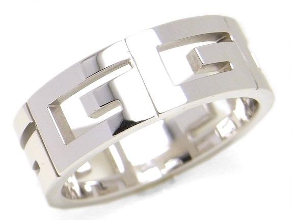 Nhẫn Gucci K18WG size 19