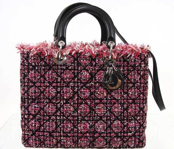 Túi xách Christian Dior màu hồng