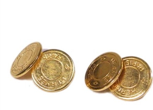 Nút áo Hermes hình tròn của nữ