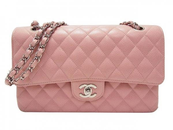 SA Túi xách Chanel classic màu hồng