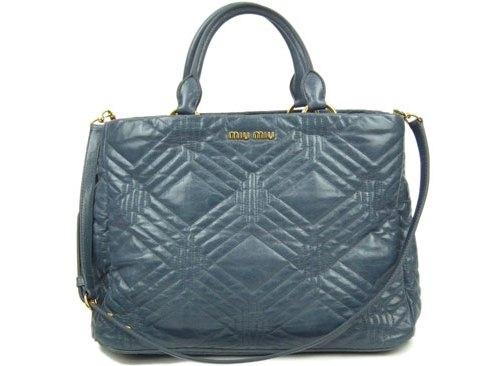 Túi xách Miu Miu màu xanh