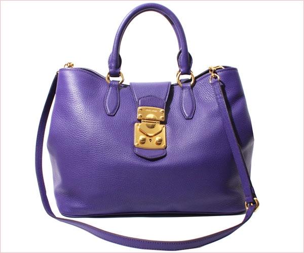 Túi xách Miu Miu RN0853-VIOLA nữ màu tím