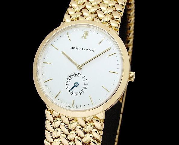 Đồng hồ nam Audemars Piguet vàng vàng