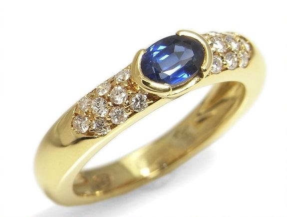 Nhẫn Piaget K18YG kim cương 0.70ct size 54