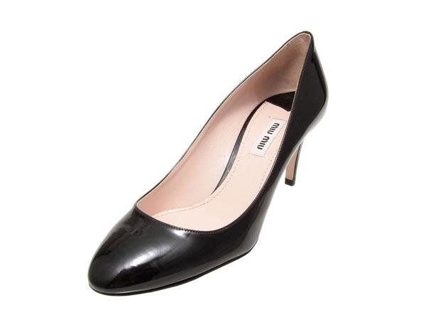 S Giày Miumiu đen size 38