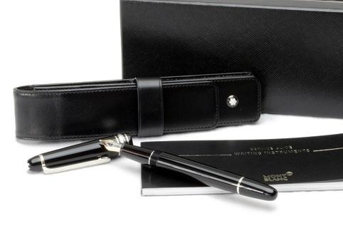 Bút máy Monblanc đen ngòi K14