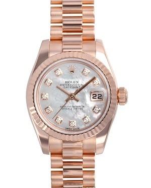SA Đồng hồ Rolex nữ 179175 vàng hồng