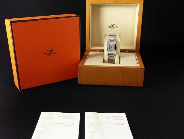 MS3810 Đồng hồ Hermes tandem kim cương