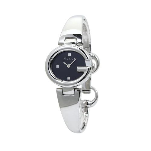 NEW Đồng hồ Gucci nữ YA134 mặt đen