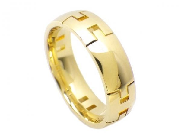 Nhẫn Hermes size 54 vàng vàng
