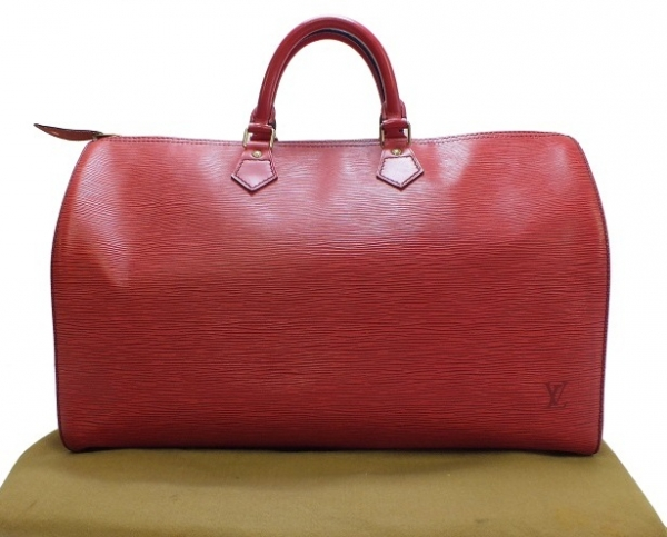 Túi Vuitton epi speedy 40 đỏ