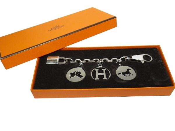 Móc khóa Hermes màu bạc