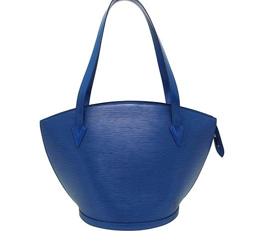 Túi Louis Vuitton epi saint jacques màu xanh