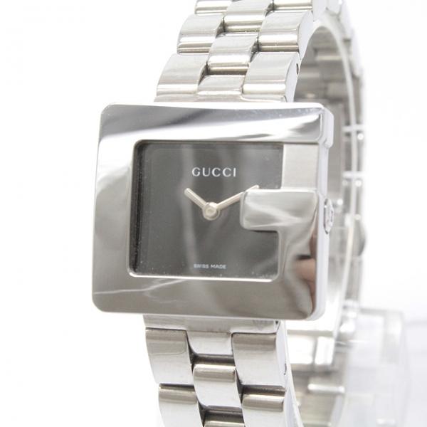 Đồng hồ Gucci 3600L màu đen bạc