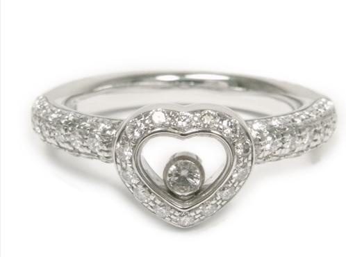 Nhẫn Chopard happy size 10.5 kim cương