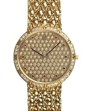 Đồng hồ Audemars Piguet nam 2 kim YG