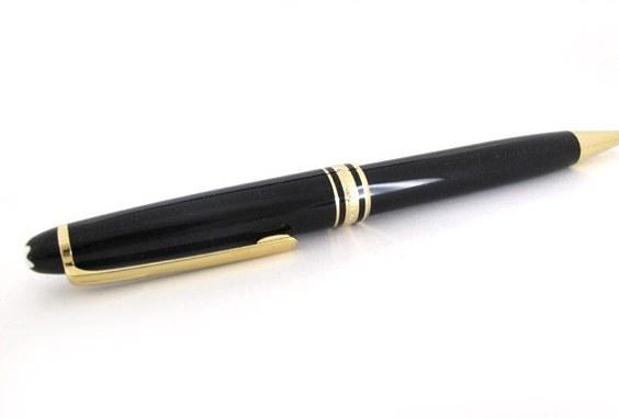 SA bút bi Montblanc đen vàng