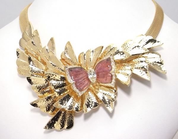 Vòng cổ vàng kim cương 1.711ct