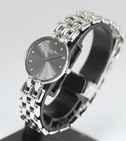 Đồng hồ Christian Dior nữ mặt xám
