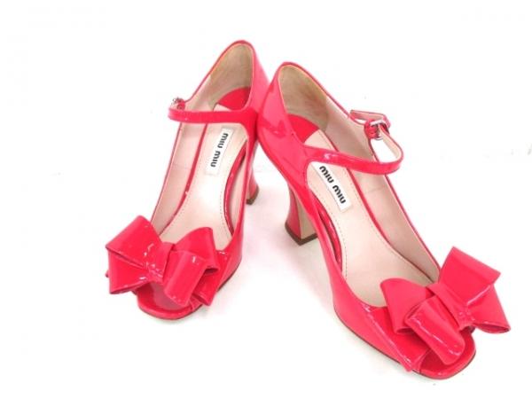 Sandal Miu Miu size 34 1/2 màu hồng