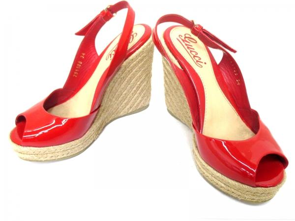 Sandal Gucci size 24 đỏ