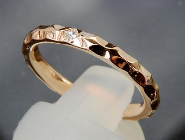 Nhẫn Louis Vuitton K18PG kim cương size 54