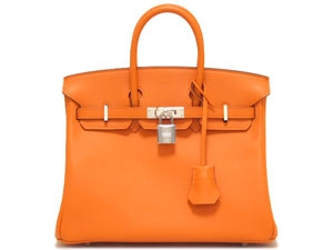 NEW Hermes birkin 25 orange