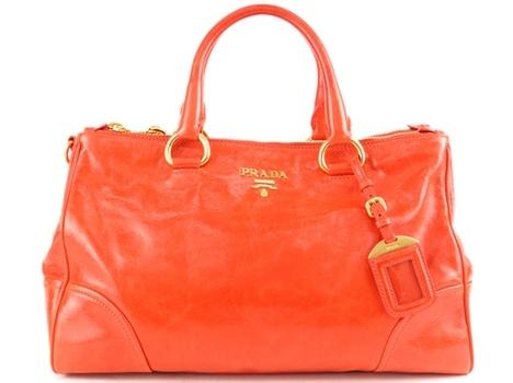 Túi xách Prada màu cam BN2324
