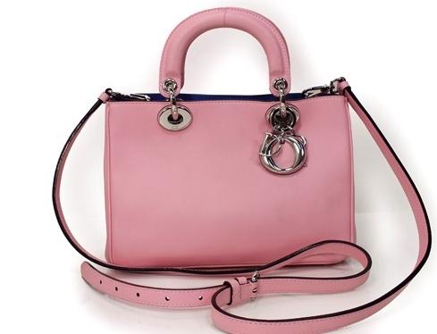 Túi xách Christian Dior diorissimo màu hồng