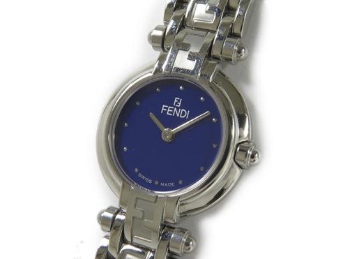 MS4416 Đồng hồ Fendi mặt xanh