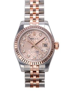 NEW Đồng hồ Rolex nữ 179171 vi tính hồng