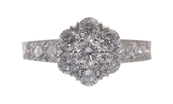 Nhẫn kim cương Van Cleef & Arpels diamond ring size 10