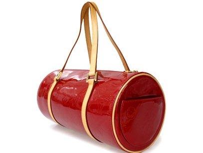 MS4217 Túi Louis Vuitton trống màu đỏ SALEOFF