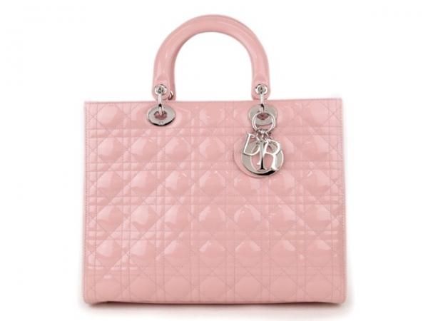 S Túi xách Christian Dior màu hồng