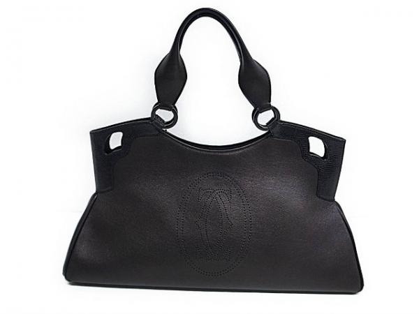 Túi xách Cartier màu đen loại to