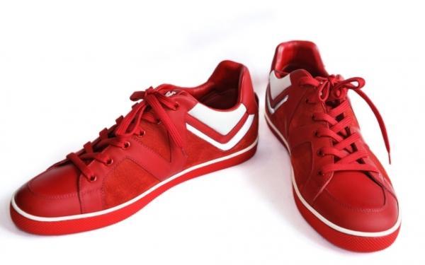 MS3960 Giày nam Louis Vuitton đỏ size 6