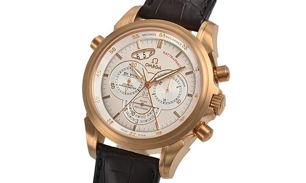 NEW Đồng hồ Omega De Ville K18PG dây da